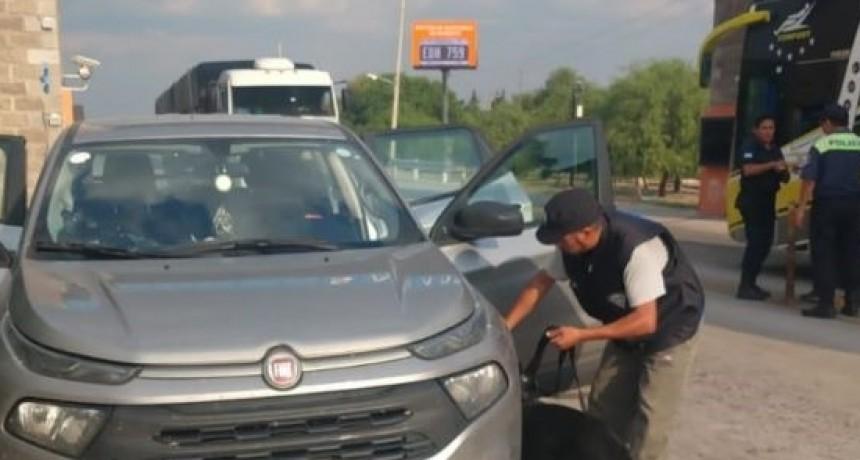 Desaguadero: extranjeros con droga fueron detenidos