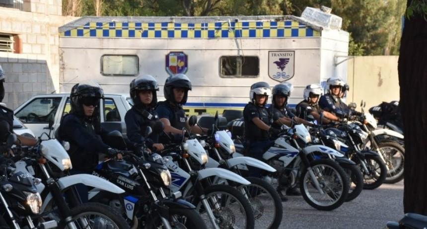 Megaoperativo de prevención en toda la provincia:1255 policías y 245 móviles afectados