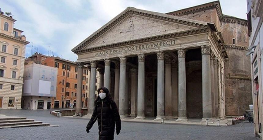 Récord de mortalidad por el coronavirus en Italia: murieron 250 personas en las últimas 24 horas y el total asciende a 1266