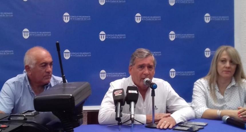 Concejo Deliberante San Luis: en conferencia anunciaron que no habrá sesiones por dos jueves consecutivos