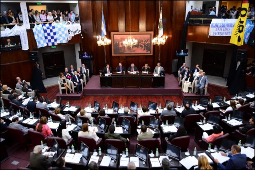 Apertura del periodo de sesiones legislativas