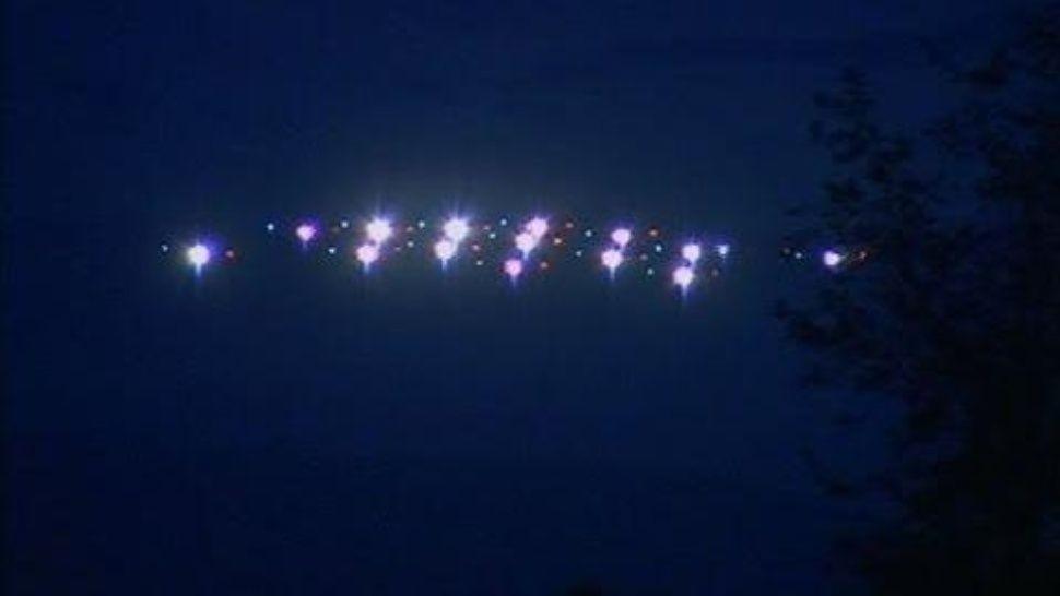 Filman OVNIS en paradisíaca playa de Buzios
