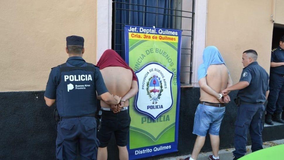 Cayeron los narco delivery de Berazategui