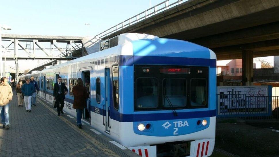 Amenaza de bomba en el tren Sarmiento: servicio interrumpido
