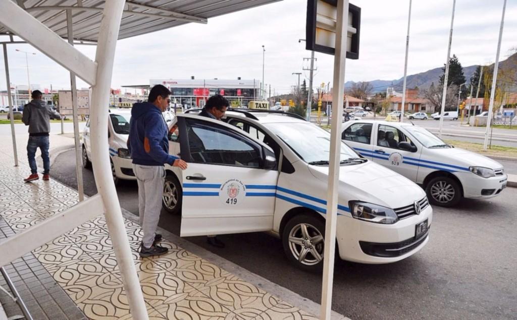 Los taxistas se reunieron con el ministro de seguridad