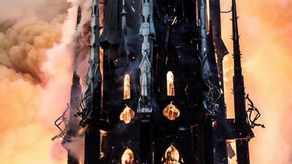 El tesoro de Notre Dame no corre riesgo de incendiarse