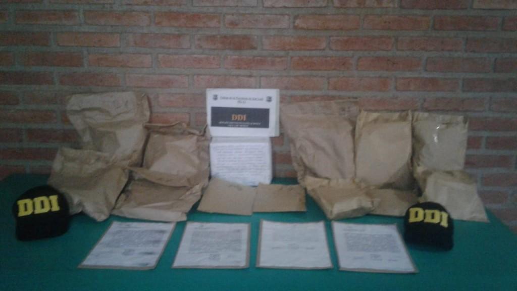 Merlo: se recuperó en Córdoba elementos robados de una aseguradora
