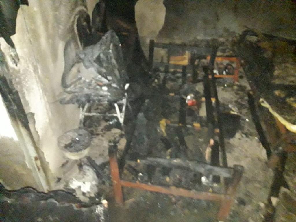 San Luis: incendio en una casa del Barrio San Martín Anexo