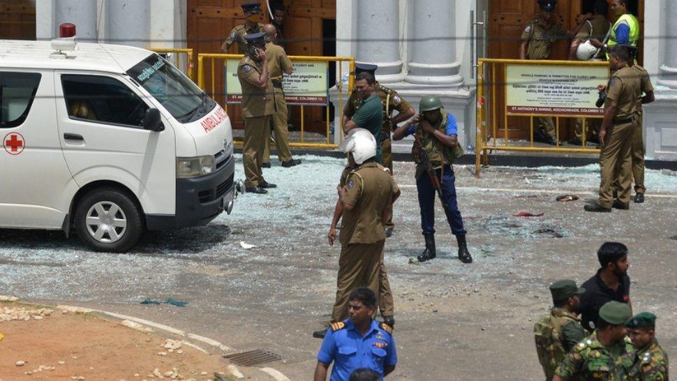 Una nueva bomba estalló en iglesia de Sri Lanka