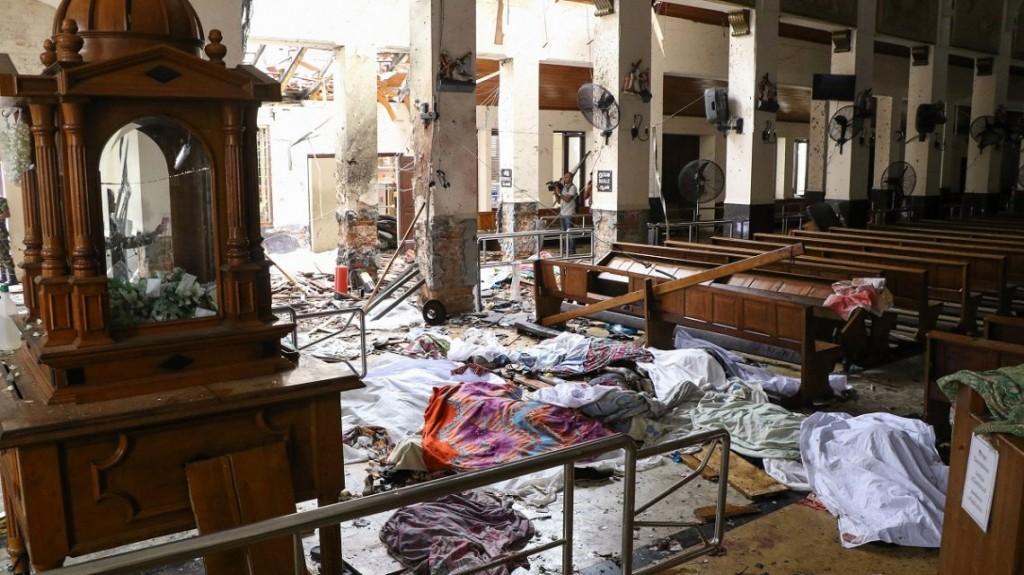 ISIS asumió la autoría de los atentados en Sri Lanka