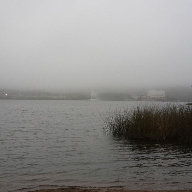 San Luis amaneció cubierto por la neblina