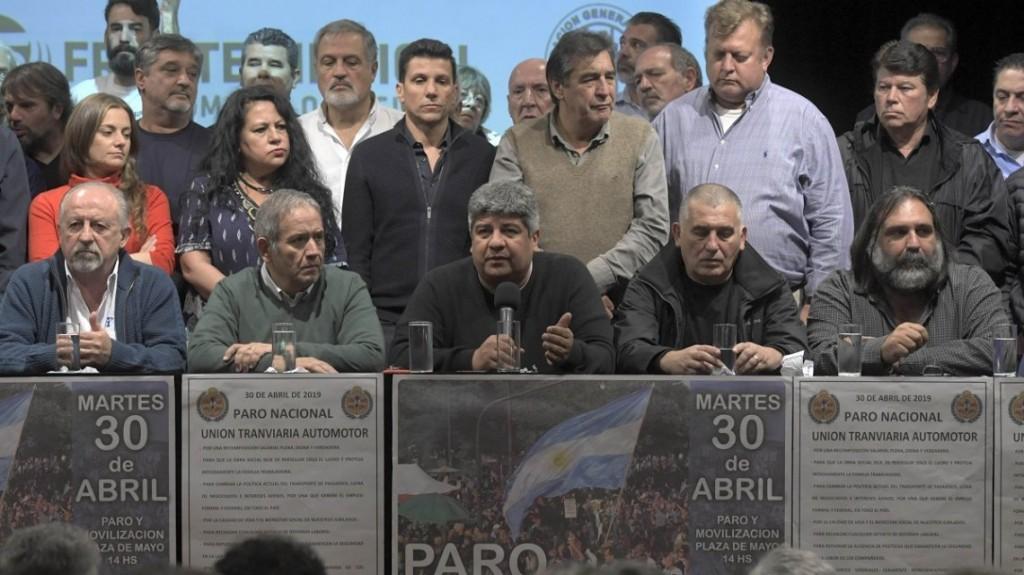 La Confederación Sindical Internacional apoya el paro del 30 de abril