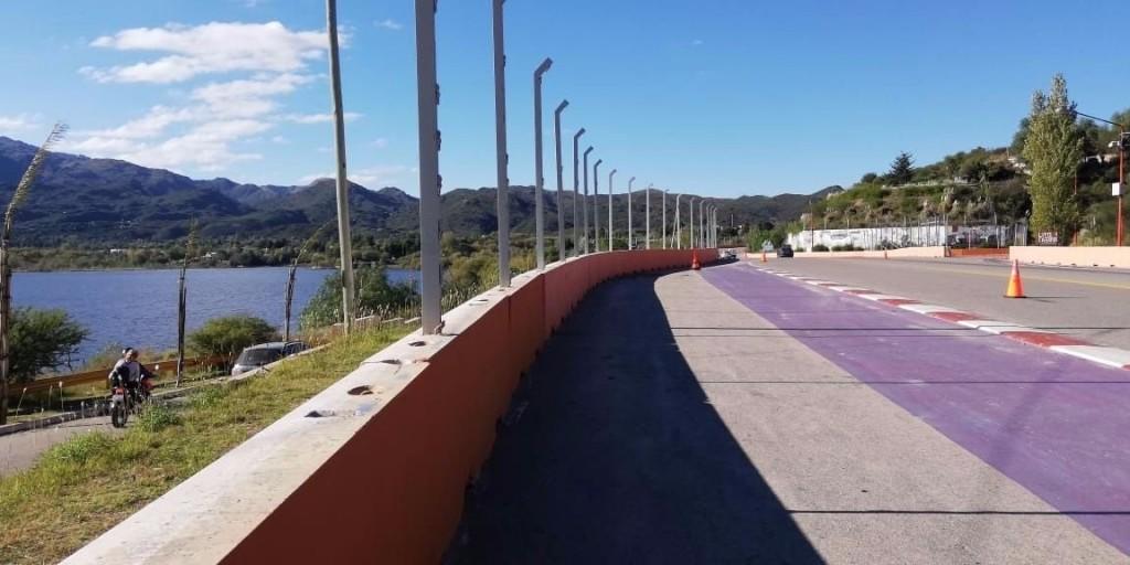 Comenzaron a remover las rejas del circuito de Potrero de los Funes