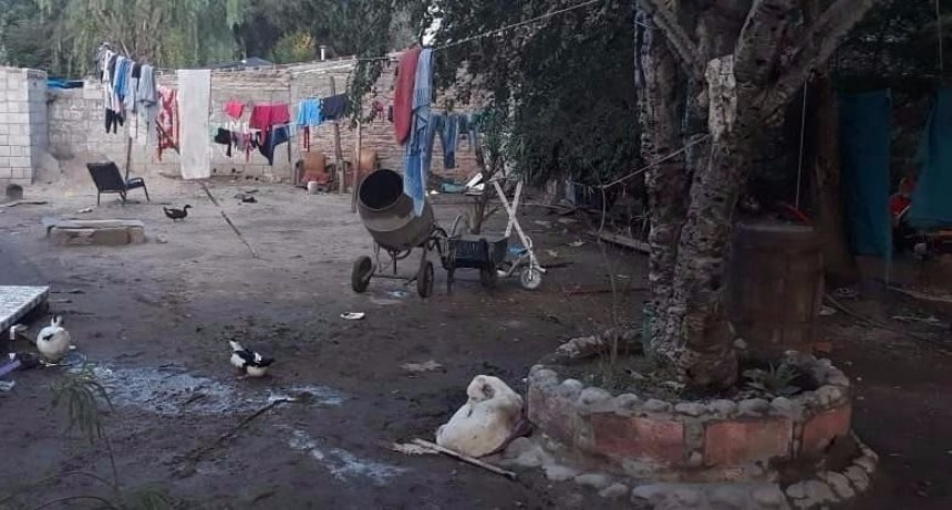 Villa Mercedes: un joven murio electrocutado por una maquina hormigonera
