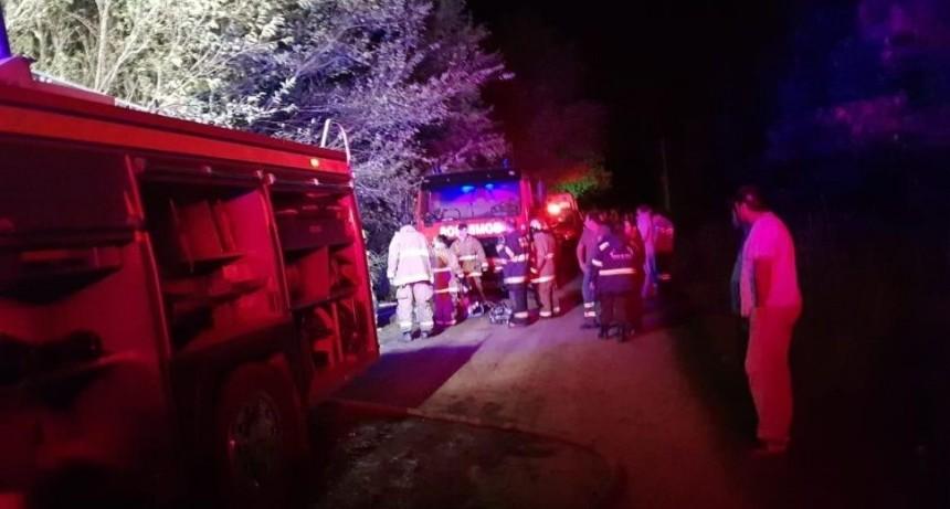 Nene de 5 años murió carbonizado en voraz incendio