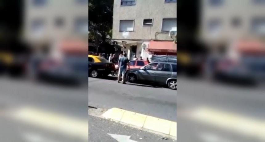 Habló la jefa del taxista violento de Villa Urquiza: