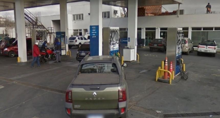 Policía eliminó a ladrón que intentó desvalijar estación de servicio