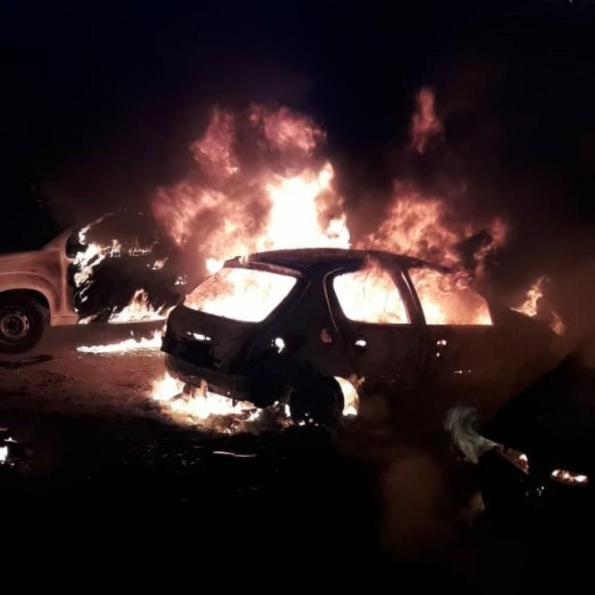 San Luis: incendio en una cochera en el centro de la ciudad