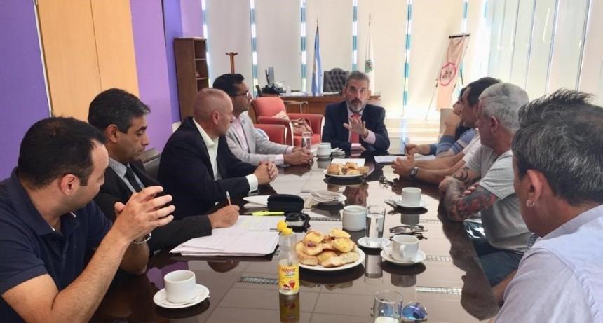 Reunión con el ministro de seguridad