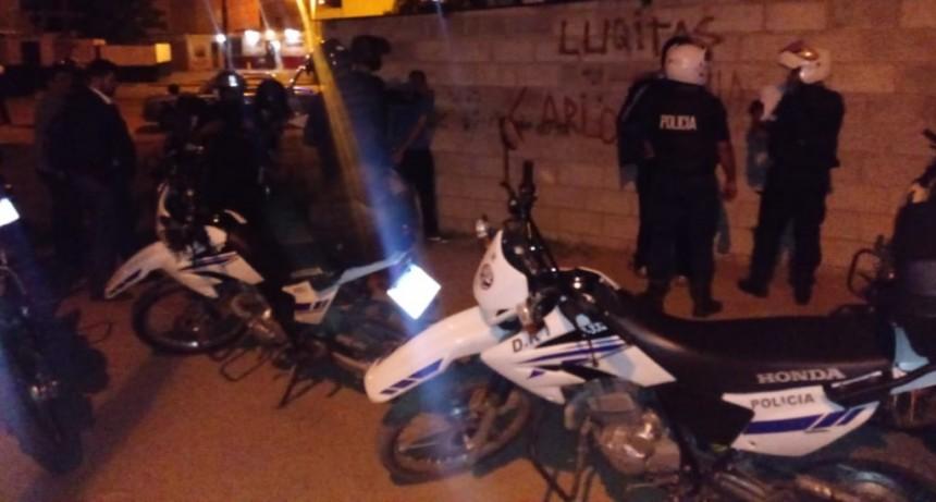 San Luis: se demoró a un hombre por agredir a una mujer y a un adolescente por sustraer un celular