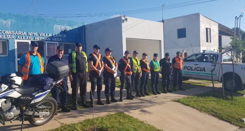 Megaoperativo Provincial: 1500 efectivos y 300 móviles desplegados en toda la provincia