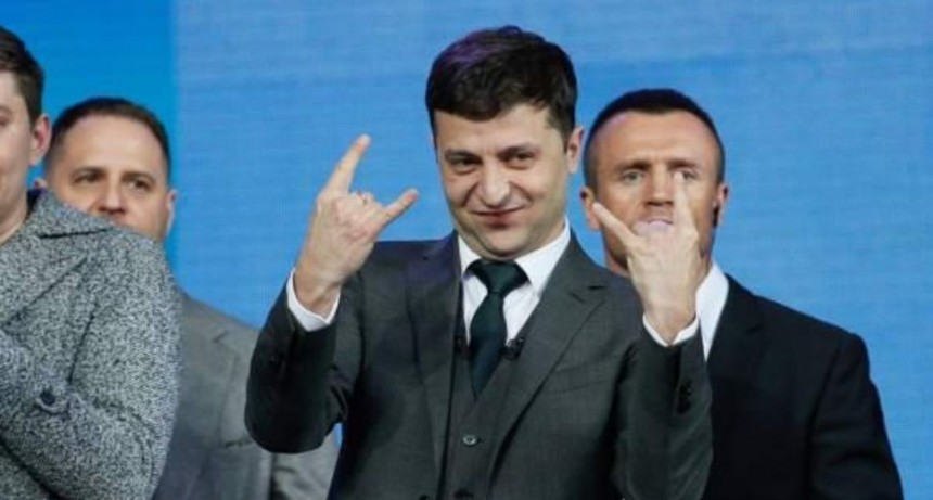 No es un chiste: el nuevo presidente de Ucrania es un humorista