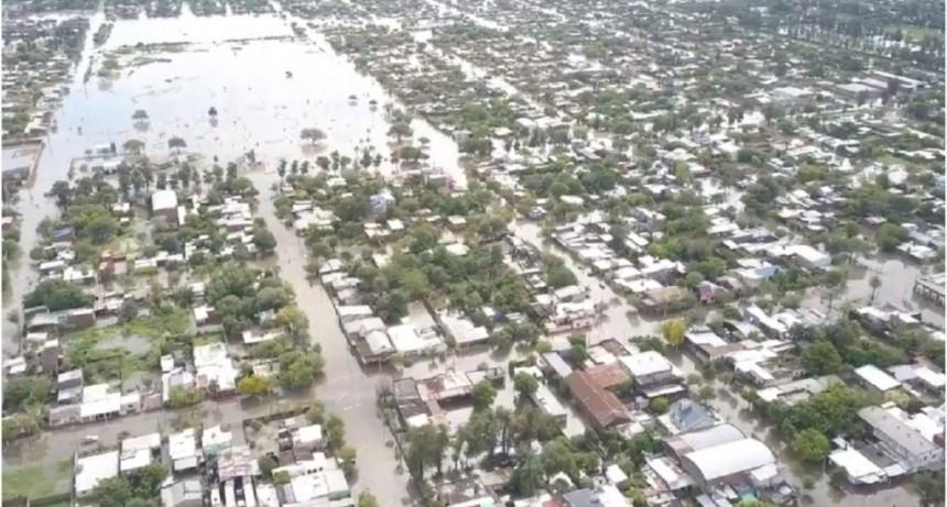 Chaco: 2 muertos por las inundaciones y el agua que no afloja