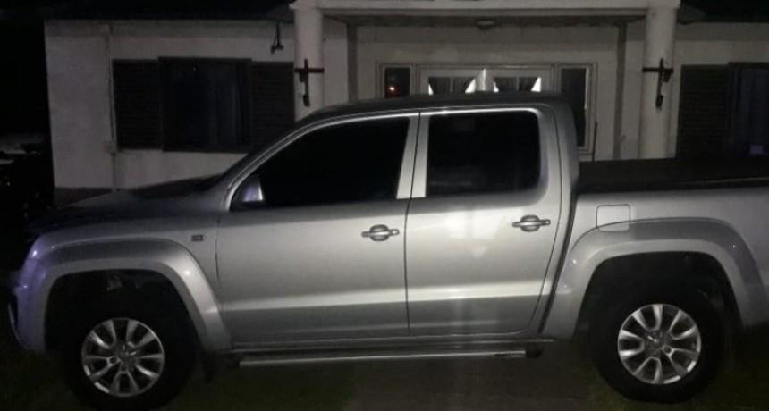 Las Vizcacheras: se secuestró una camioneta por robo