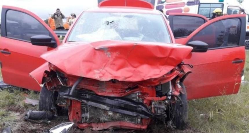 San Luis: dos personas murieron luego de chocar a un jabalí con su auto