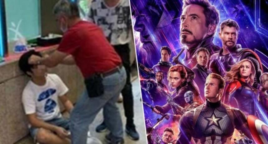 Spoileó el final de Avengers: Endgame y le dieron una paliza