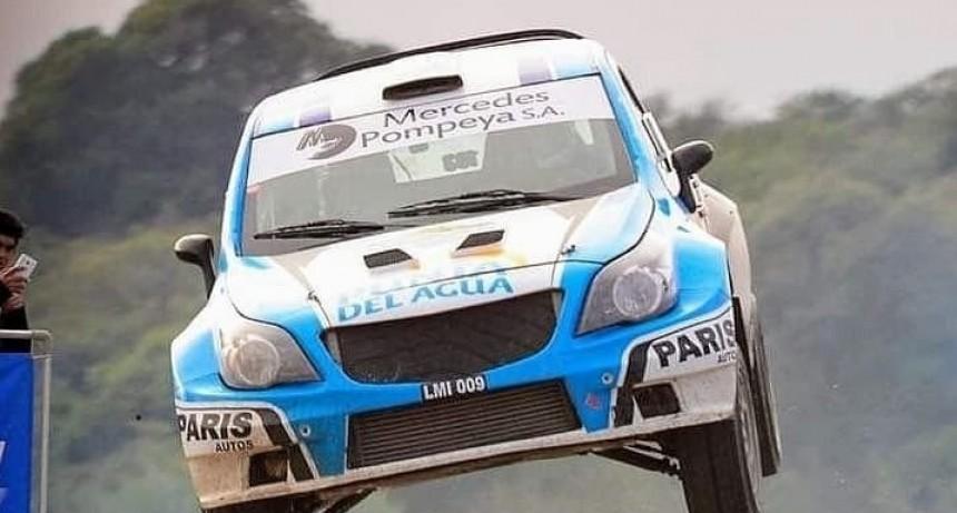Miguel Baldoni pisa firma en el Rally Argentino
