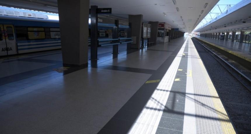 Los trenes fueron suspendidos por amenazas de bomba en Constitución, Retiro y Once