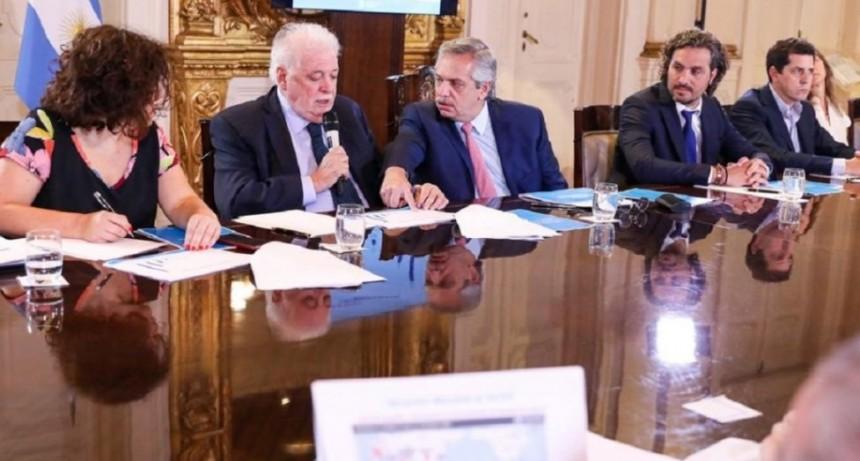 Coronavirus: Alberto Fernández encabeza en Olivos una reunión del gabinete económico