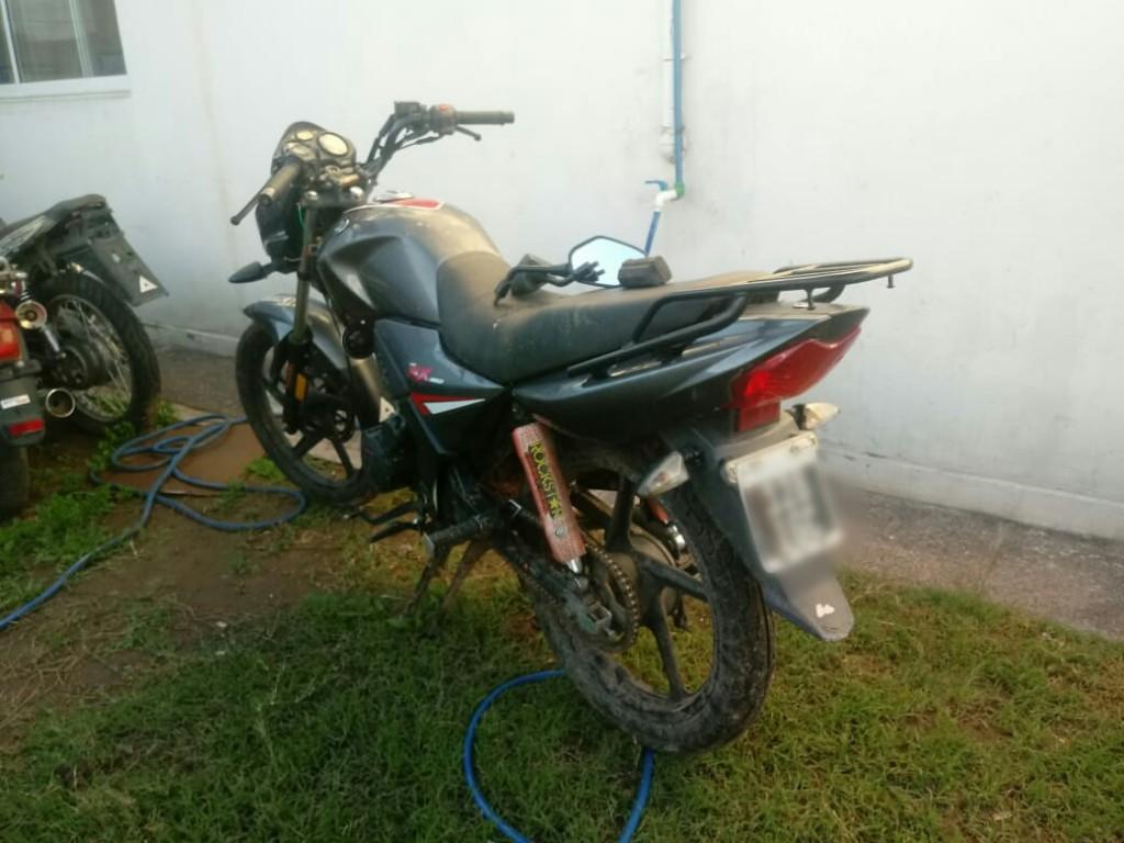 San Luis: la Policía recuperó en pocas horas una motocicleta sustraída