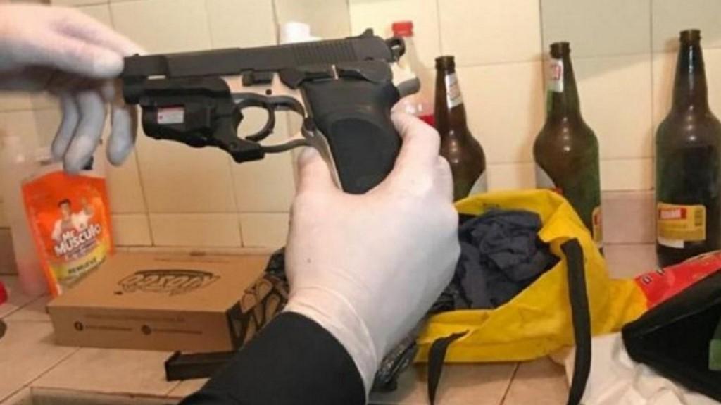 Ataque al diputado Olivares: la pistola encontrada es el arma con la que mataron a Yadón