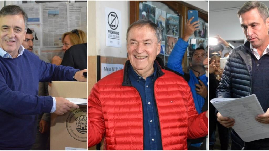 Córdoba: votaron los principales candidatos y los primeros datos estarían después de las 21
