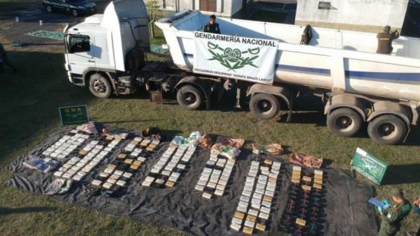 Decomisan casi 300 kilos de cocaína tras seguir un camión por cinco provincias