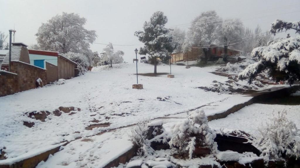 Nevó en La Carolina, Merlo y el Valle de Pancanta
