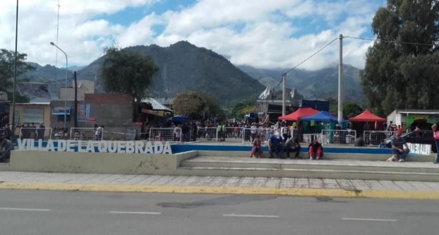 Villa de la Quebrada: estadísticas del operativo