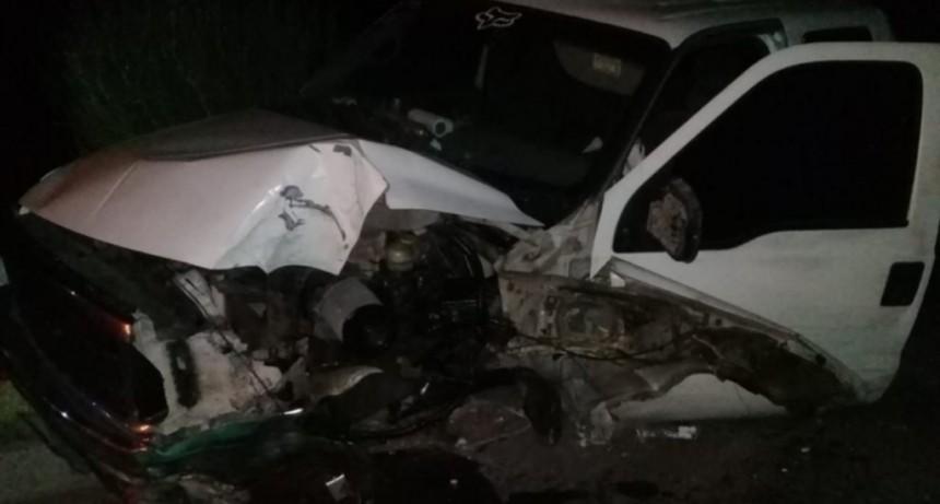 San Luis: una familia que volvía de trabajar en Villa de la Quebrada sufrió un accidente