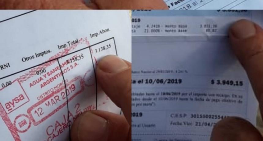 Le llegó una boleta de casi 4.000 pesos y dice que le conviene más bañarse con cerveza
