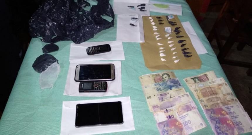 Fraga: allanamientos y secuestro de droga