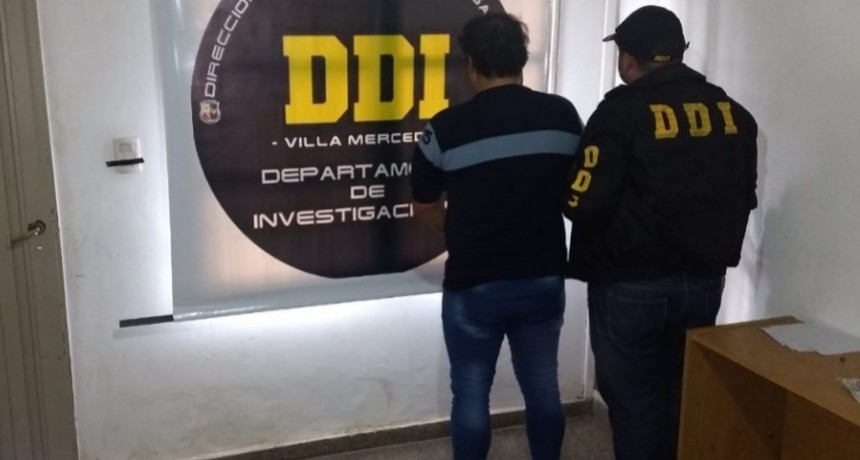 Villa Mercedes: se detuvo a un hombre con pedido de captura