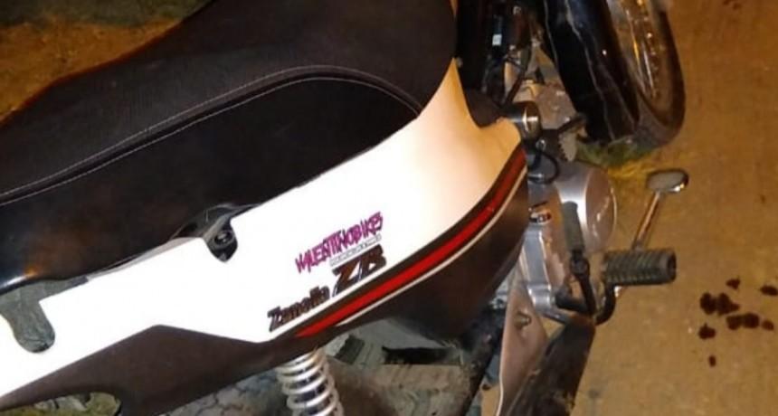 San Luis: se recuperó una moto robada