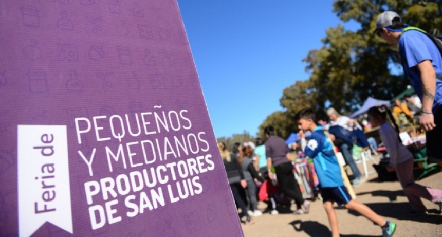 Primer aniversario de la Feria de  Pequeños y Medianos Productores