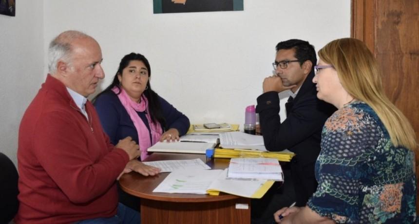 La comisión de Seguridad del Concejo Deliberante se reunió con el presidente del Colegio de Ingeniero