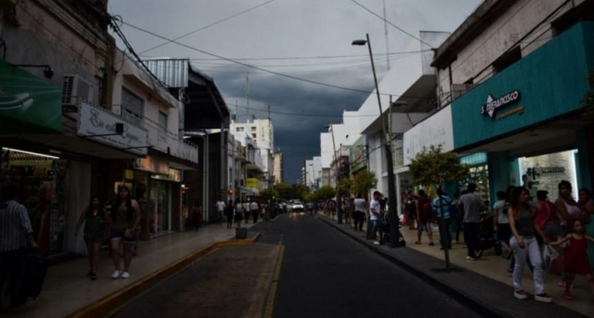 Jueves inestable, en el sur provincial rige un alerta por probables precipitaciones