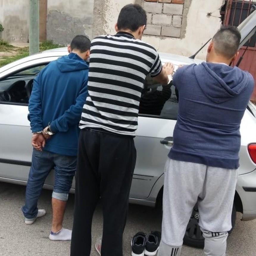 San Luis: tres hombres detenidos y dos armas secuestradas