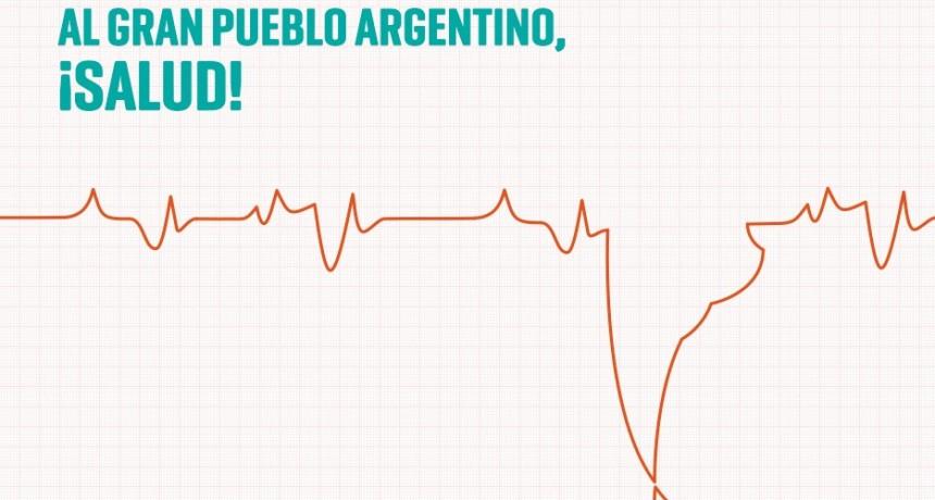 Al gran pueblo argentino, ¡salud!
