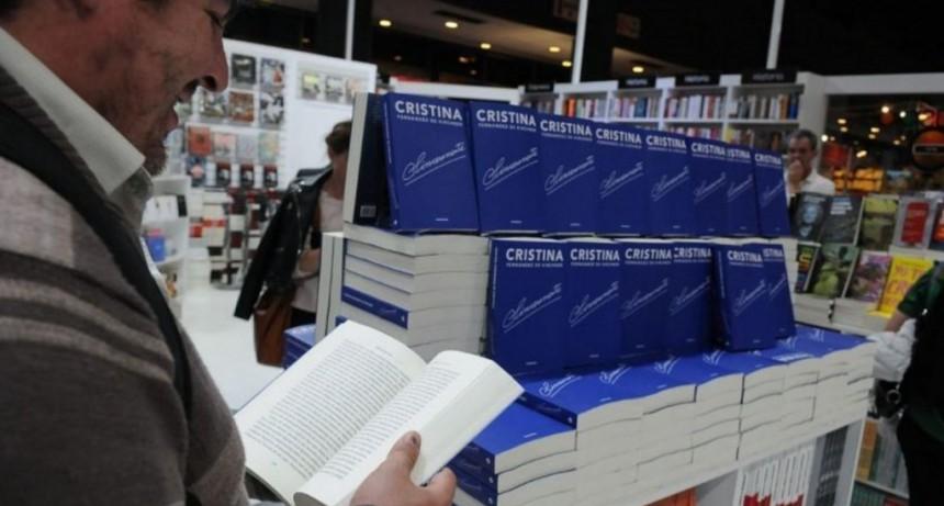 Sinceramente, el libro de Cristina Kirchner, lleva recaudados unos $120 millones